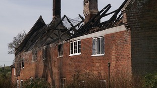 Listed cottages on Blickling Estate destroyed by fire