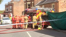 Two people die in Spalding house fire