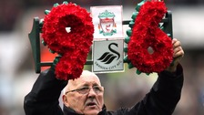Hillsborough tribute at Swansea's Liberty Stadium