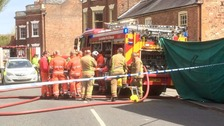 Three people die in Lincolnshire house fire