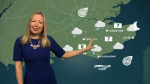 The latest weather for the east with Philippa