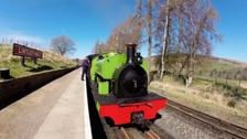 Hundreds mark Alston railway anniversary