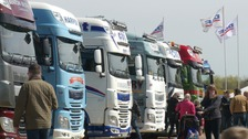 Thousands head to Peterborough for annual Truckfest show