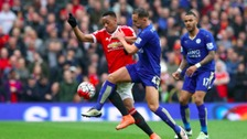 Danny Drinkwater battles with Antony Martial