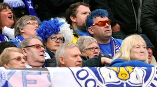 Leicester City fans must wait to celebrate.