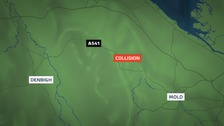Police appeal after fatal collision near Mold