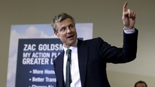 Zac Goldsmith's campaign has been criticised by a peer from his own party.