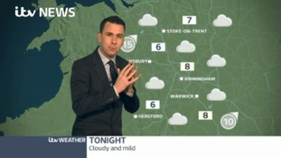 West Midlands Weather: Cloudy and mild