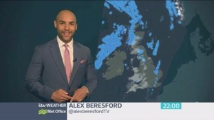 Rain spreading southeastwards to all parts during Bank holiday Monday