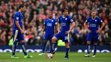 Leicester title celebrations on hold after draw at Man Utd