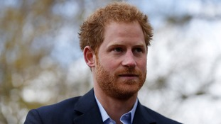 Prince Harry on Invictus Games mission across the Atlantic