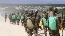 British soldiers arrive in Somalia to counter terrorism