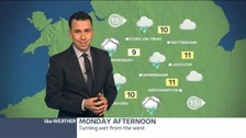 Central weather: Your forecast for Bank Holiday Monday
