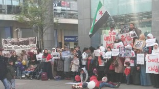 Silent vigil held in Leeds