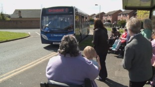 Elderly residents campaign to save 'lifeline' bus service