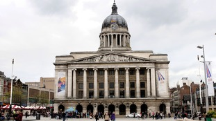 Nottingham Council House, where council offices used to be located