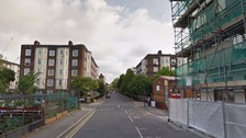 The attack took place in Tyers Street in Vauxhall.