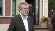 Gerry Adams apologises for tweeting N-word after watching Django Unchained