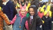 Getting into the carnival spirit in Ilkley