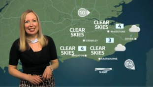 Philippa has the weather outlook for the east