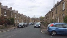 Row Street in Crosland Moor
