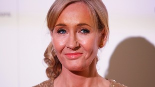 JK Rowling, author of the Harry Potter series