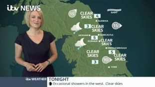 VIDEO: Monday's forecast for the North East region