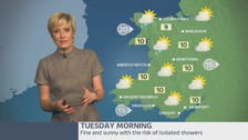 Wales weather: Sunny spells and patchy cloud