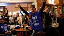 Leicester City win historic Premier League title