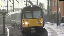 Weekend rail delays reduced