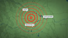Sonic booms heard across Yorkshire