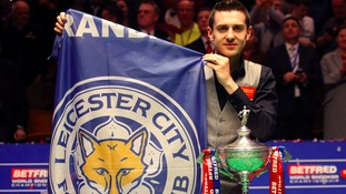 Mark Selby makes it a Leicester double by winning World Snooker Championship
