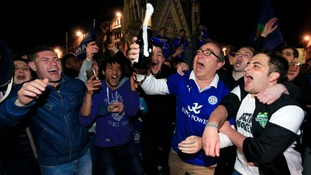 Leicester City win the Premier League after Spurs draw