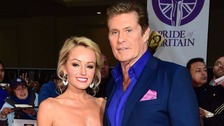 David Hasselhoff reveals engagement to Hayley Roberts