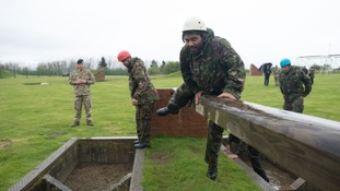 Huddersfield teenagers get a taste of army life