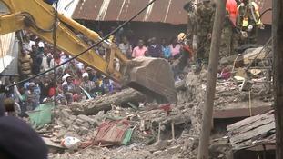 Kenya collapse