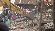 18-month-old girl pulled alive from building collapse