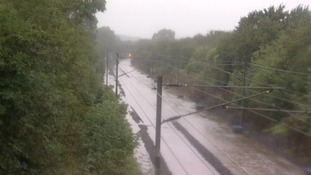 Rail passengers told to stay at home during floods