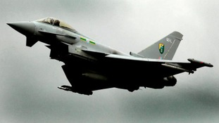 Typhoon jets on standby around clock to defend UK airspace