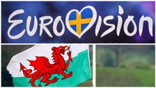 Eurovision competition ban Welsh flag