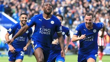 Leicester won the Premier League title last night