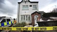 Mystery: Police have been searching a house for three day and won't say why