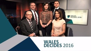 The faces of ITV Wales' election night coverage.