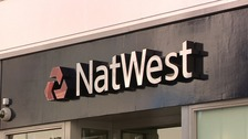 The Natwest bank was robbed last week.