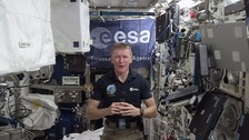 Major Tim Peake.