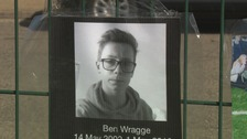 Ben Wragge died in Thurston on Sunday.