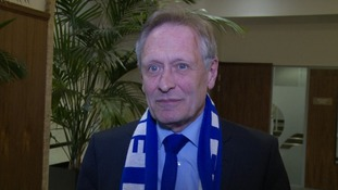 Leicester mayor Peter Soulsby said people would want to know aboput the city 'where this amazing team comes from'