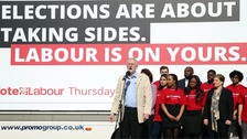 Corbyn launches fresh attack on cuts ahead of elections