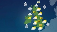 Weather: Windy with gales in some regions