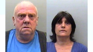 Police digging up garden of two convicted paedophiles